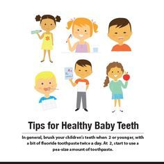Tips for Healthy Baby Teeth. #orthodontistarlington