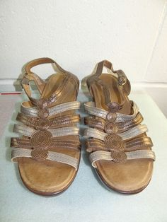 90fe151f70fee2 DANSKO Tan Brown Leather Wedge Sandals Women Size 42   12M  fashion   clothing  shoes  accessories  womensshoes  sandals (ebay link)