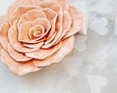 Shabby pink clay rose