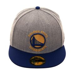 ba45f29ef5b13 New Era 59Fifty Golden State Warriors Hat - 2T Heather Gray