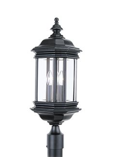 Buy the Sea Gull Lighting Black Direct. Shop for the Sea Gull Lighting Black Hill Gate 3 Light High LED Outdoor Post Light with Clear Glass Panels and save. Outdoor Decorative Lights, Outdoor Post Lights, Outdoor Wall Lantern, Outdoor Lighting, Fence Lighting, Lamp Post Lights, Lantern Post, Light Bulb Types, Lamp Sets