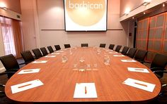Hire The Barbican - Large Conference Venue In London - Seminars & Meeting Venue In London - Prestigious Venue For Hire In London. Conference Meeting, Conference Room, Meeting Venue, Room London, Barbican, Table, Rooms, Furniture, Home Decor