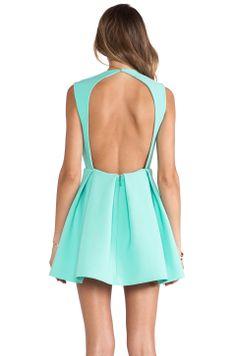 AQ/AQ Upper Mini Dress in Bermuda