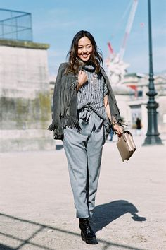 Vanessa Jackman: Paris Fashion Week AW 2015....Aimee