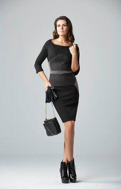elegant black classy dress chic style wwww.chrisper.gr find it online
