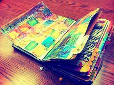 DIY Midori Calendar Outline - Rough description on how to do it, no printable.