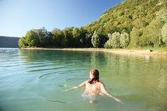 Un site pour découvrir les lieux de baignades sauvages du Jura   Jura, France   #Jura #JuraTourisme