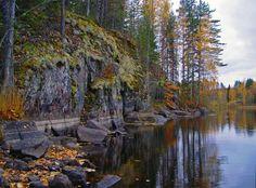 Finnish Sketches - Victor Kasatkin  #landscape