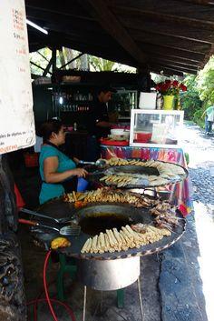 street food - El Parico, Uruapan del Progreso, Michoacan de Ocampo, Mexico
