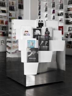 Fotografiska Museum on Architizer Studio Ghibli, Cube Design, Museum Displays, Museum Shop, Shops, Swedish Design, Commercial Interiors, Retail Design, Visual Merchandising