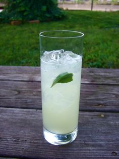 Oh my gosh, I want one now!  Thai Ginger Lime Cooler Food52