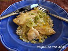 Slow Cooker Chicken and Broccoli Casserole Recipe