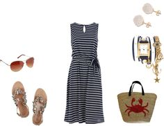 """""""By the Water"""" by jennifer-jenkins on Polyvore"""