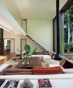 large tropical home design ideas 20 Tropical Living Room Design Inspiration