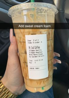 Starbucks Secret Menu Drinks, Starbucks Iced Coffee, Healthy Starbucks Drinks, Yummy Drinks, Coffee Drink Recipes, Coffee Drinks, How To Order Starbucks, Smoothie Drinks, Smoothies