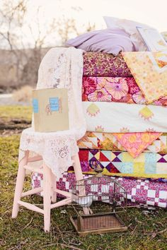 The Princess & the Pea Party  |  captured by corrin...what a cute birthday party idea for a little girl (or a little girl at heart).