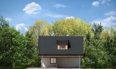 Projekt domu Szarejka – 63.63 m2 - koszt budowy 65 tys. zł Places To Visit, Home Appliances, House Appliances, Appliances