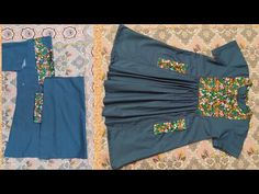Baby Frock Pattern, Frock Patterns, Kids Dress Patterns, Bra Pattern, Sewing Patterns, Girls Dresses Sewing, Girls Casual Dresses, Frocks For Girls, Baby Dresses