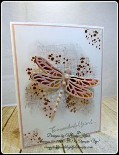 Dragonfly Dreams, Timeless Textures, Detailed Dragonfly Thinlits (13)