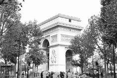 + Arc de Triomphe + Paris + Travel + France + Wanderlust