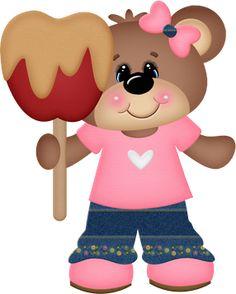 Carmel Apple Bear