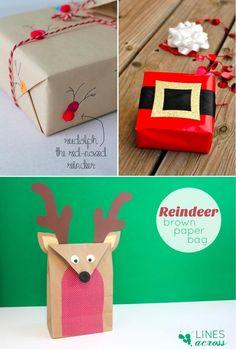 Ideas para envolver regalos esta Navidad   Aprender manualidades es facilisimo.com
