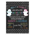 Boo-y or Ghoul Halloween Gender Reveal Invite #halloween #happyhalloween #halloweenparty #halloweenmakeup #halloweencostume