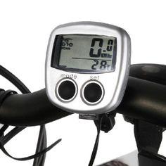 Vattentät Trådlös Cykel Dator Lysdiod Vägmätare Hastighetsmätare Cykel