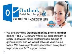 We are Offering Outlook helpline number Ireland If you are using Outlook email and facing technical issues like Unable to login, Invalid passw. Tech Support, Engineers, Spam, Ireland, Number, Face, Youtube, The Face, Irish