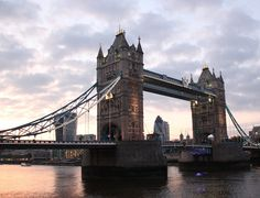 The Tower Bridge From London