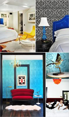 """Hotel St. Cecilia, Austin - stayed in the top left """"rocker room"""". so great!"""
