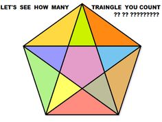 LET SEE How Many TRIANGLE You Count? MATHS PUZZLES With Answer - http://picsdownloadz.com/puzzles/how-many-triangle-you-count-maths-puzzles-with-answer/