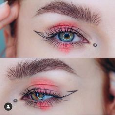 Gorgeous Eyeshadow Makeup Looks Blue Eyes Strawberry Jelly Makeup – Eye Makeup Eye Looks, Creative Makeup Looks, Crazy Makeup, Cute Makeup, Pretty Makeup, Beauty Makeup, Makeup Tips, Makeup Videos, Weird Makeup
