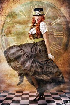 Rebekah W #steampunk #Fashion
