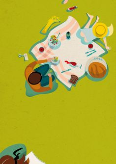 © Daria Kirpach -  #summer #love #food #conceptual #greeting card #design #editorial #lifestyle #4seasons #holidays