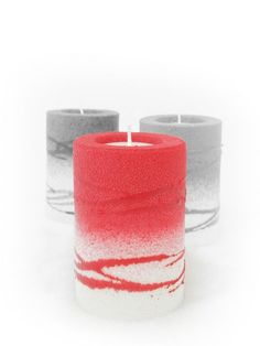 Rolle rot Zell Am See, Pillar Candles, Candles, Red