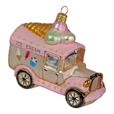 Handmade Ice Cream Van Christmas tree bauble from The Christmas Boutique Santa Key, Ice Cream Van, Ice Cream Party, Handmade Ice Cream, Christmas Tree Baubles, Ebay, Toys, Holiday Decor, Boutique