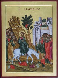 Lord's Entrance into Jerusalem   Whispers of an Immortalist: Icons of Christ's Passion 2