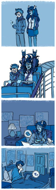 No but they're perfect because they balance each other. John tempers Vriskas bitchiness and manipulative tendencies and Vriska pushes John to step outside his comfort zone. Love this ship.