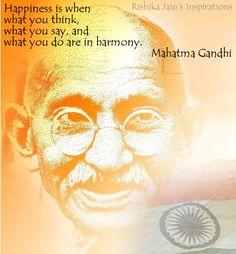 Gandhi Mahatma Inspirational Quotes | Positive Thinking Inspirational Quotes Motivational Thoughts And ...