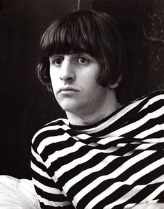 Famous stripes: Ringo Starr