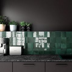 Tile Space has thousands of designer tiles from all over the world. Our ranges are suitable for every type of tile installation from a mosaic tile splashback to bathroom floor tiles and everything in between. Black Wall Tiles, Black Interior Doors, Kitchen Wall Tiles, Kitchen Backsplash, Maila, New House Plans, Home Decor Kitchen, Tile Design, Amazing Bathrooms