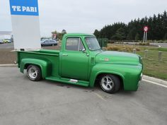 Cool Vans, Custom Trucks, Old Trucks, Street, Vehicles, Ford Trucks, Roads, Car, Walkway