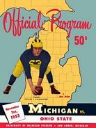 Michigan-OSU Program Cover 1953