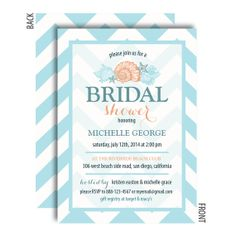 Beach wedding beach theme wedding shower invitations amandas beach bridal shower invitations filmwisefo