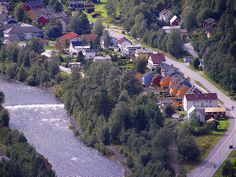 Rjukan, Norway. The place where i'd like to stay... this town receives no direct sunlight for nearly half of the year, because it located in a valley at the foot of the towering Gaustatoppen Mountain.