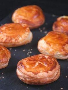 Recette Chèvre en feuilleté #recette #fromage #facile