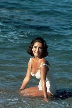 Elizabeth Taylor beach