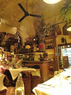 Osteria Belle Donne is a small and cozy eatery in a quiet neighborhood. Located at Via delle Belle Donne 16/r, one street over from Santa Maria Novella and a five-minute walk from our recommended hotel. Follow the link to find more good restaurants in Florence.  http://mikestravelguide.com/where-to-to-eat-and-where-to-sleep-in-florence/