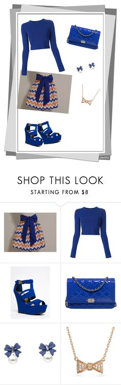 """""""Blue Spring"""" by ariella-loves ❤ liked on Polyvore featuring Proenza Schouler, Qupid, Chanel and Bling Jewelry"""